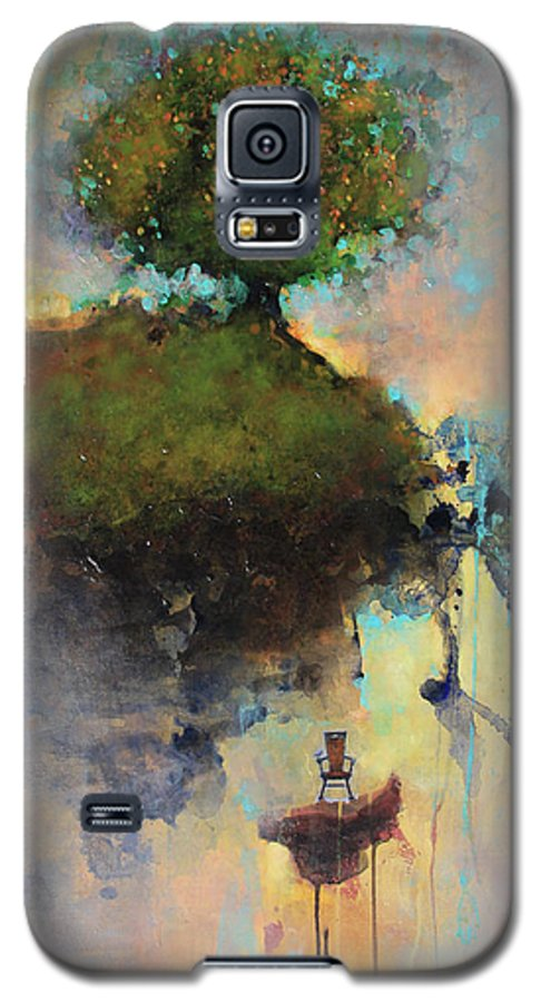 Joshua Smith Galaxy S5 Case featuring the painting The Hiding Place by Joshua Smith