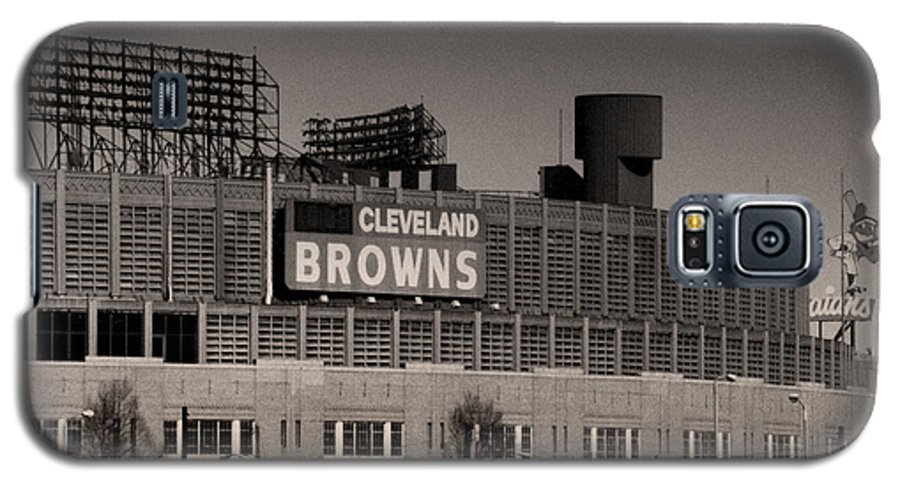 Cleveland Galaxy S5 Case featuring the photograph The Hometeams by Kenneth Krolikowski