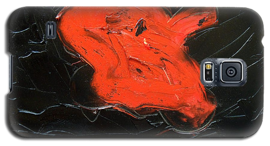 Surreal Galaxy S5 Case featuring the painting The Last Hope by Sergey Bezhinets