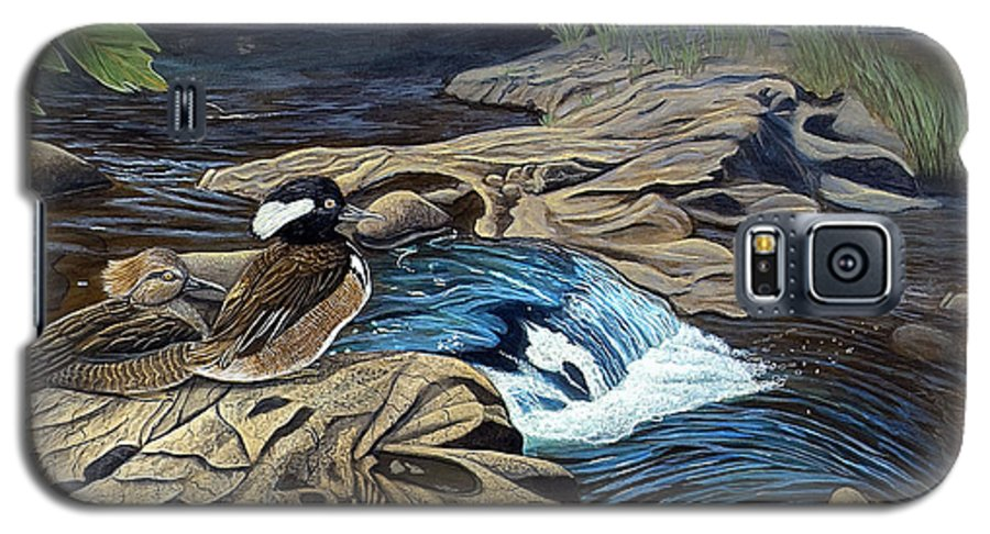 Rick Huotari Galaxy S5 Case featuring the painting The Resting Place by Rick Huotari