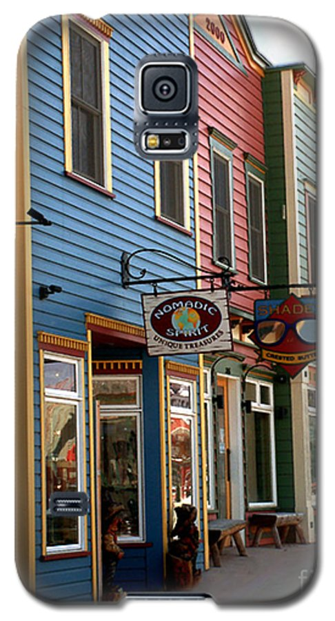 Landscape Galaxy S5 Case featuring the photograph The Shops In Crested Butte by RC DeWinter