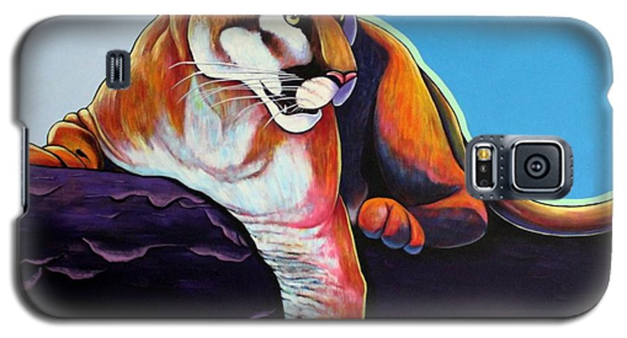 Wildlife Galaxy S5 Case featuring the painting The Toll Collector by Joe Triano