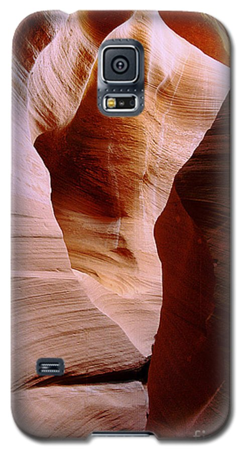 Antelope Canyon Galaxy S5 Case featuring the photograph Timeless by Kathy McClure