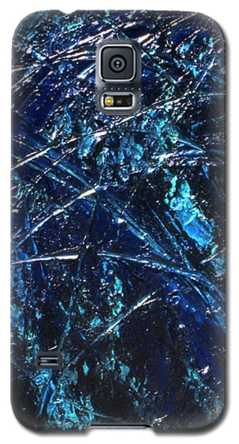 Abstract Galaxy S5 Case featuring the painting Transitions I by Dean Triolo