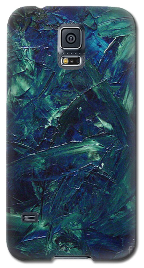 Abstract Galaxy S5 Case featuring the painting Transtions Xi by Dean Triolo