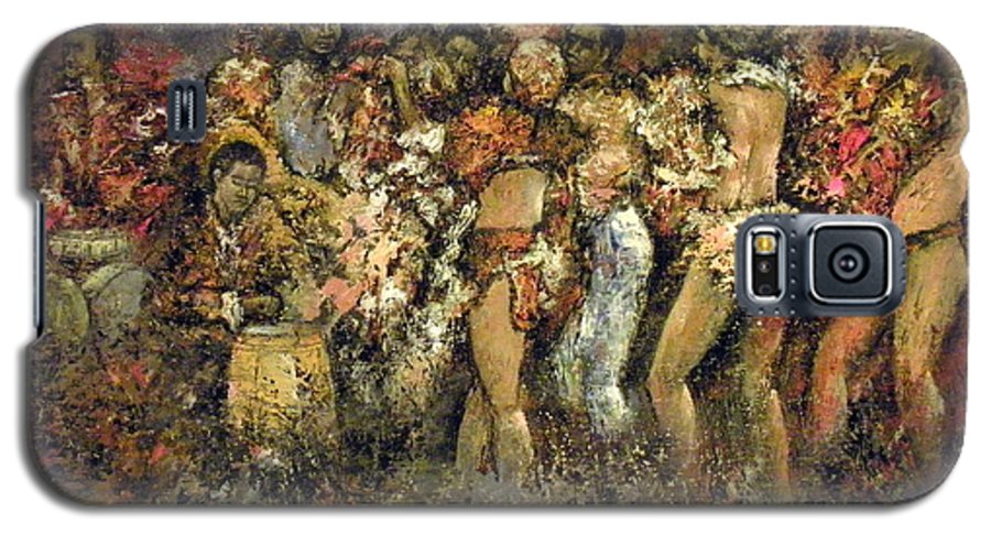 Tropicana Galaxy S5 Case featuring the painting Tropicana Havana by Tomas Castano