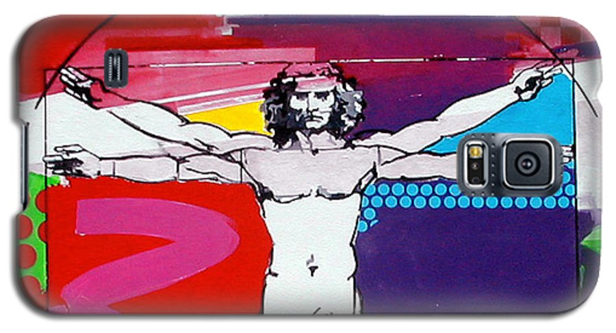 Classic Galaxy S5 Case featuring the painting Vetruvian by Jean Pierre Rousselet