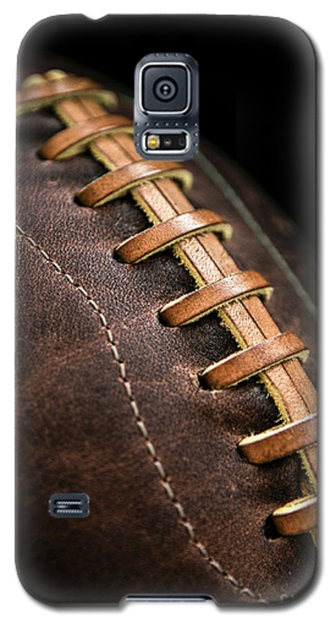 Football Galaxy S5 Case featuring the photograph Vintage Football by Diane Diederich