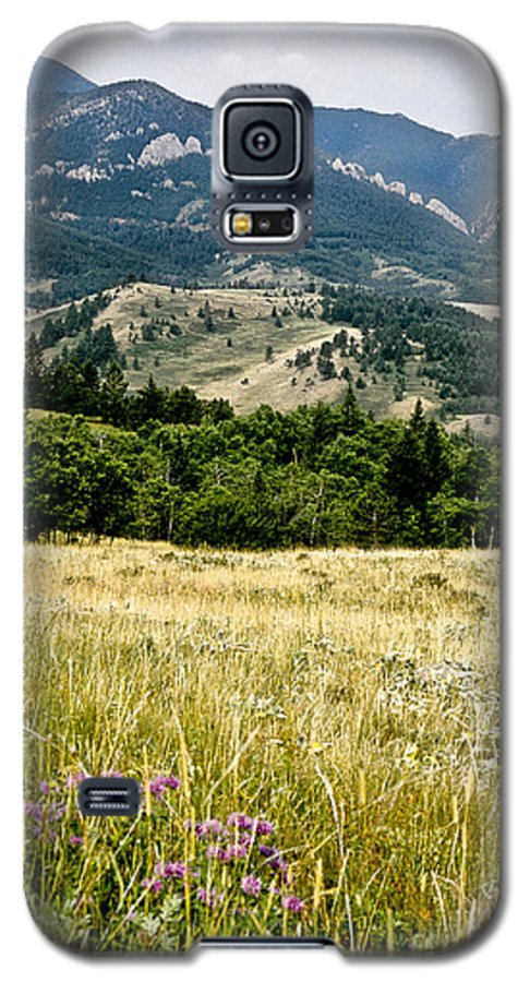 Wilderness Galaxy S5 Case featuring the photograph Washake Wilderness by Kathy McClure