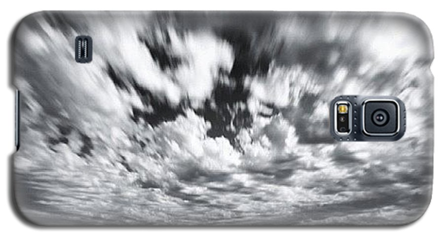 Galaxy S5 Case featuring the photograph We Have Had Lots Of High Clouds And by Larry Marshall