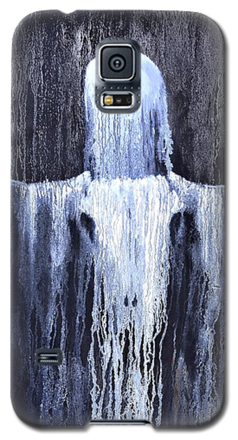 Inspirational Galaxy S5 Case featuring the painting Wovoka's Dream by Patrick Trotter