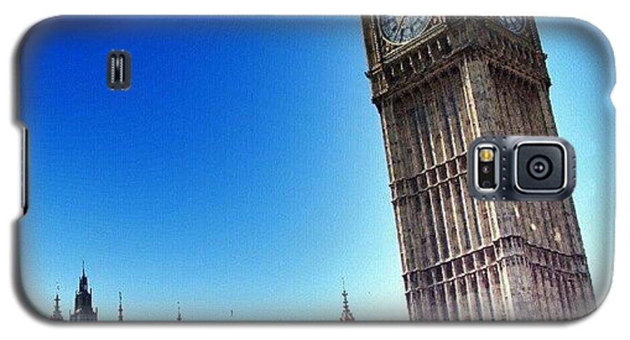 England Galaxy S5 Case featuring the photograph #bigben #uk #england #london2012 by Abdelrahman Alawwad