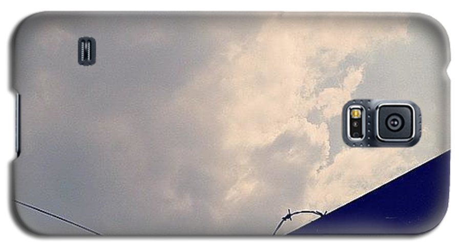 Sky Galaxy S5 Case featuring the photograph #minimalism #instago #iphonesia #sky by Tito Santika