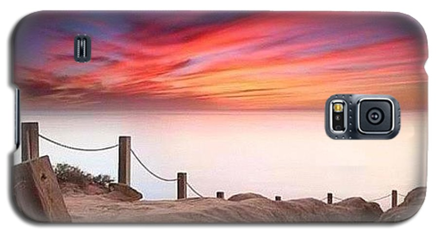 Galaxy S5 Case featuring the photograph There Is Still Time To Go To @igtopsky by Larry Marshall