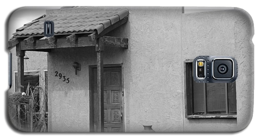 Architecture Galaxy S5 Case featuring the photograph Adobe House by Rob Hans