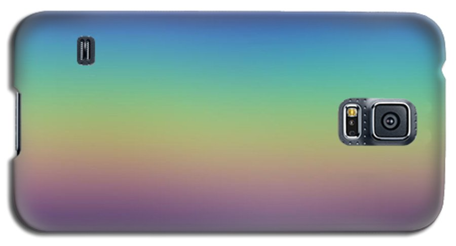 Evening.colors.silince.rest.sky.sea.clean Sky.violet.blue.yellow.rose.darkness. Galaxy S5 Case featuring the digital art Evening by Dr Loifer Vladimir