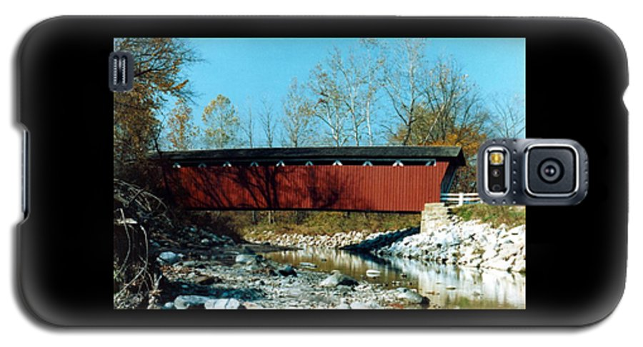 Bridge Galaxy S5 Case featuring the photograph 072106-31 by Mike Davis