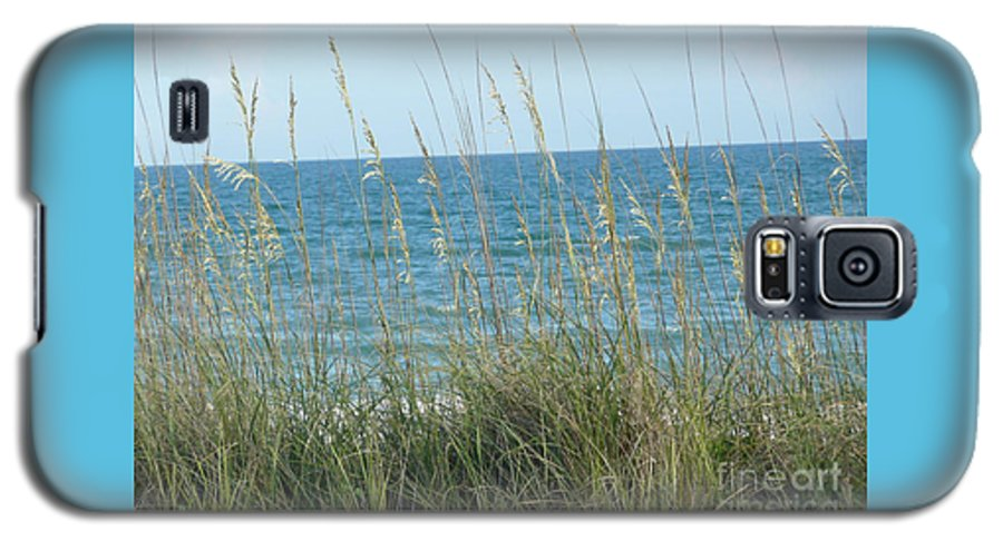 Beach Galaxy S5 Case featuring the photograph Afternoon At The Beach by Barb Montanye Meseroll