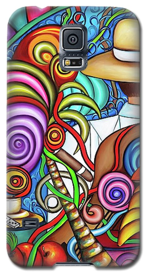 Cuba Galaxy S5 Case featuring the painting Always by Annie Maxwell