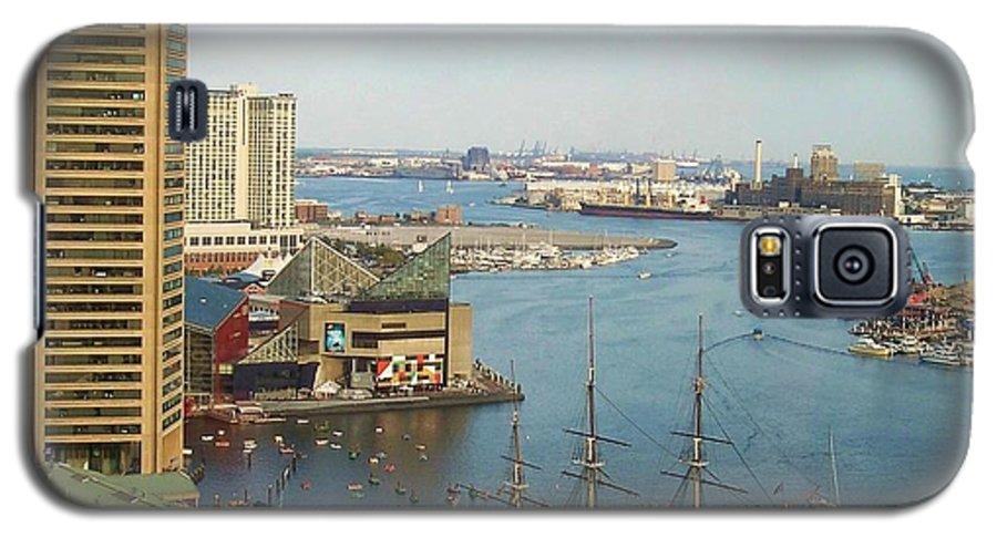 Baltimore Galaxy S5 Case featuring the photograph Baltimore by Debbi Granruth
