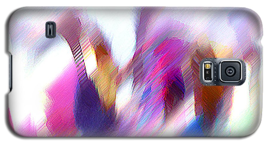 Digital Media Galaxy S5 Case featuring the painting Color Dance by Anil Nene