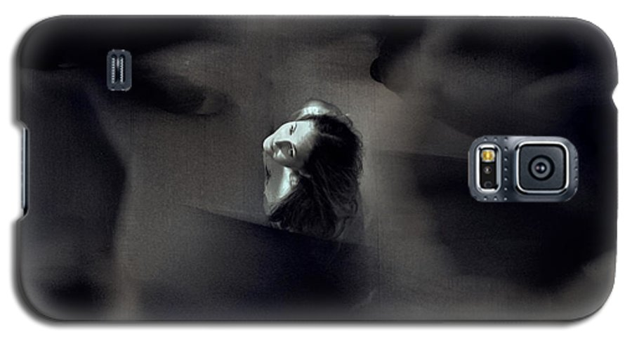 Street Galaxy S5 Case featuring the photograph Just For Today I Will Not Be Afraid by Dana DiPasquale