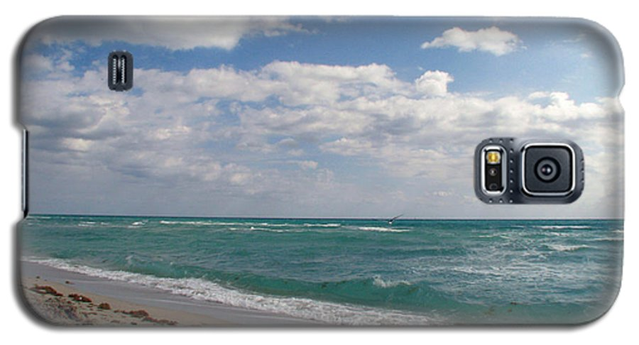 Miami Beach Galaxy S5 Case featuring the photograph Miami Beach by Amanda Barcon