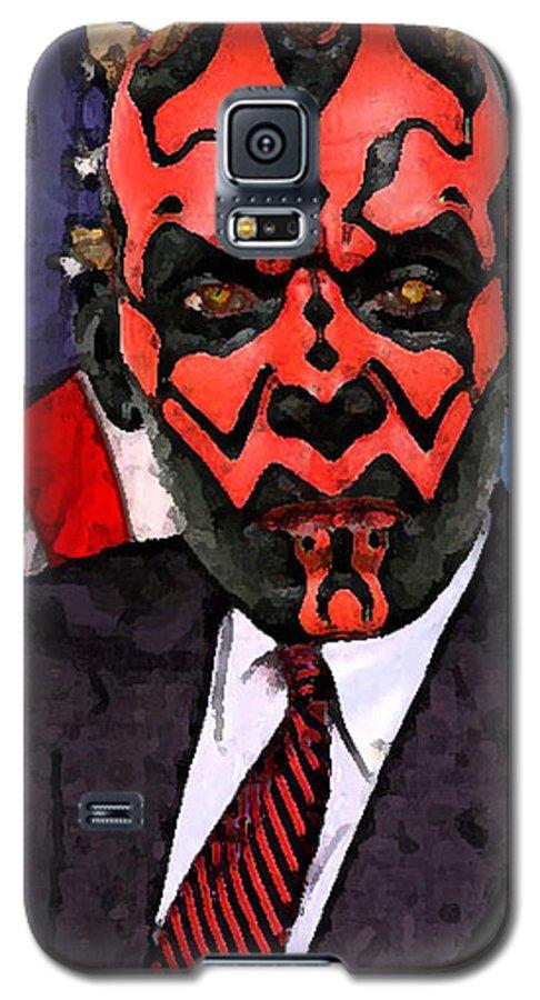 Star Wars Galaxy S5 Case featuring the digital art Senator Darth Maul by Eric Forster