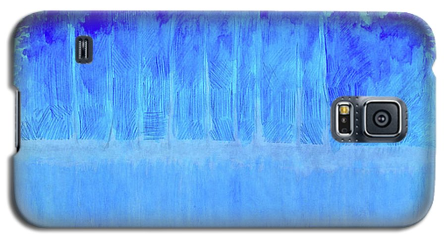 Shivering Timbers Galaxy S5 Case featuring the mixed media Shivering Timbers by Seth Weaver