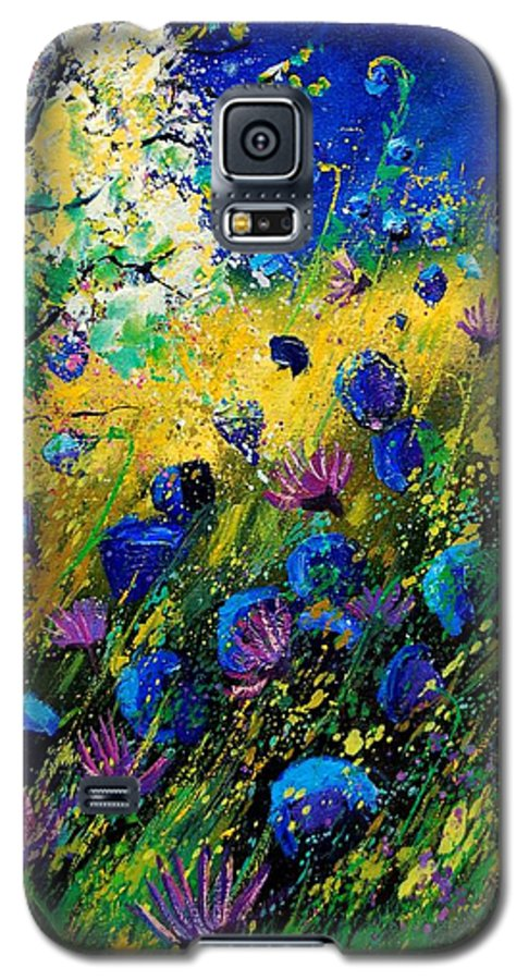 Poppies Galaxy S5 Case featuring the painting Summer 450208 by Pol Ledent