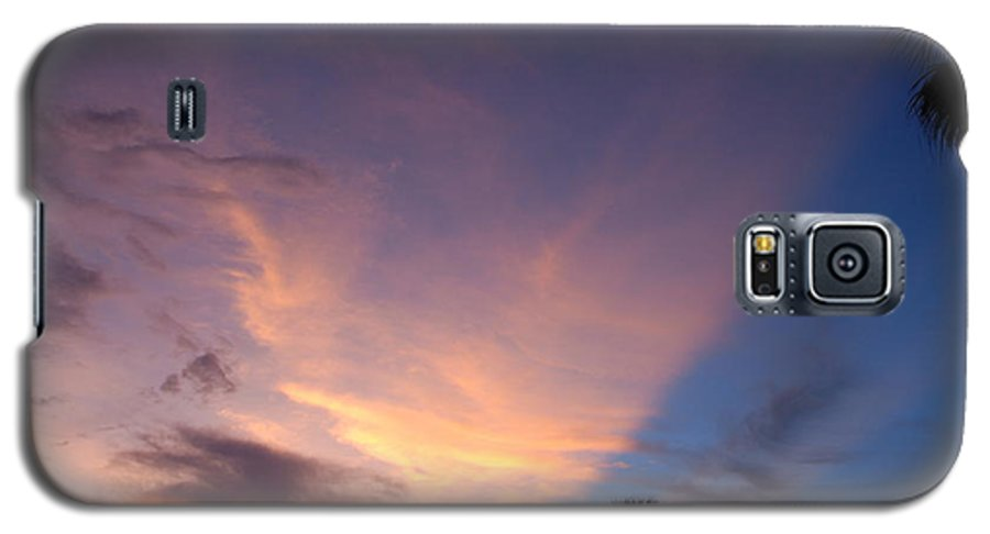 Sunset Galaxy S5 Case featuring the photograph Sunset At Pine Tree by Rob Hans