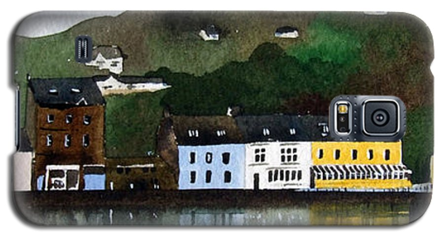 Landscape Galaxy S5 Case featuring the painting Tarbert by Paul Dene Marlor