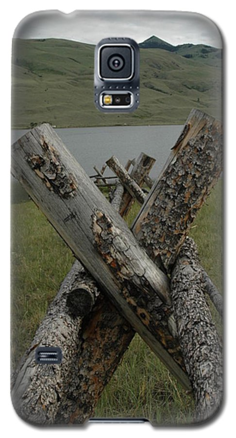 Landscape Galaxy S5 Case featuring the photograph Untitled by Kathy Schumann
