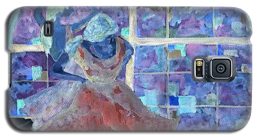 Ballet Dancers Galaxy S5 Case featuring the digital art Dansarinas by Reina Resto