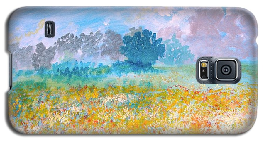 New Artist Galaxy S5 Case featuring the painting A Golden Afternoon by J Bauer