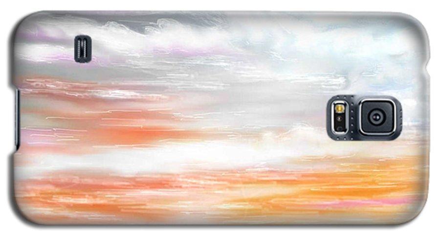 Inspirational Art Galaxy S5 Case featuring the digital art A Light Unto My Path by Brenda L Spencer
