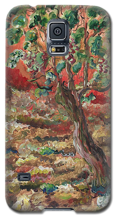Abide Galaxy S5 Case featuring the painting Abide by Nadine Rippelmeyer