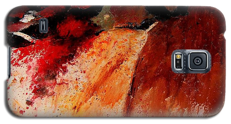 Abstract Galaxy S5 Case featuring the painting Abstract 010607 by Pol Ledent