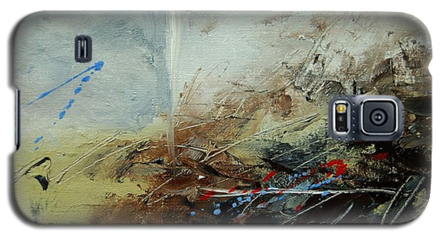 Abstract Galaxy S5 Case featuring the print Abstract 070408 by Pol Ledent
