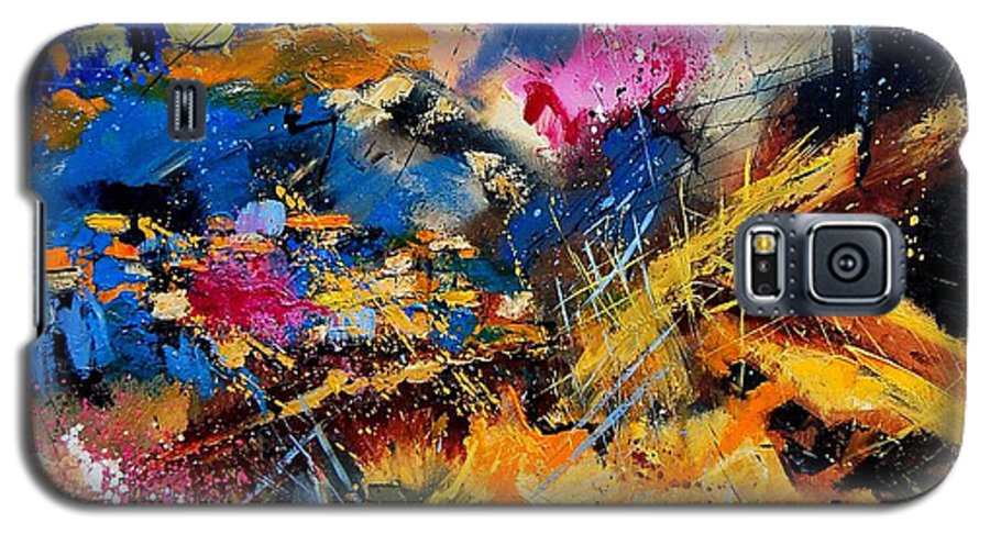 Abstract Galaxy S5 Case featuring the painting Abstract 7808082 by Pol Ledent