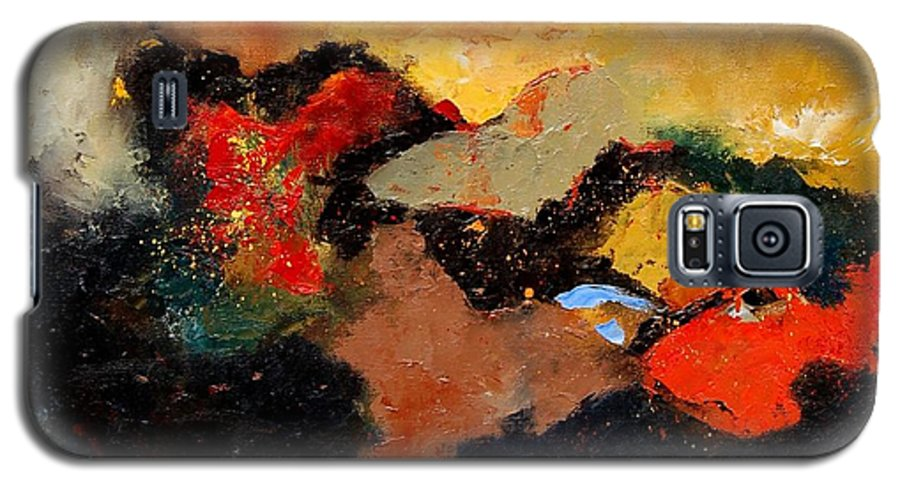 Abstract Galaxy S5 Case featuring the painting Abstract 8080 by Pol Ledent