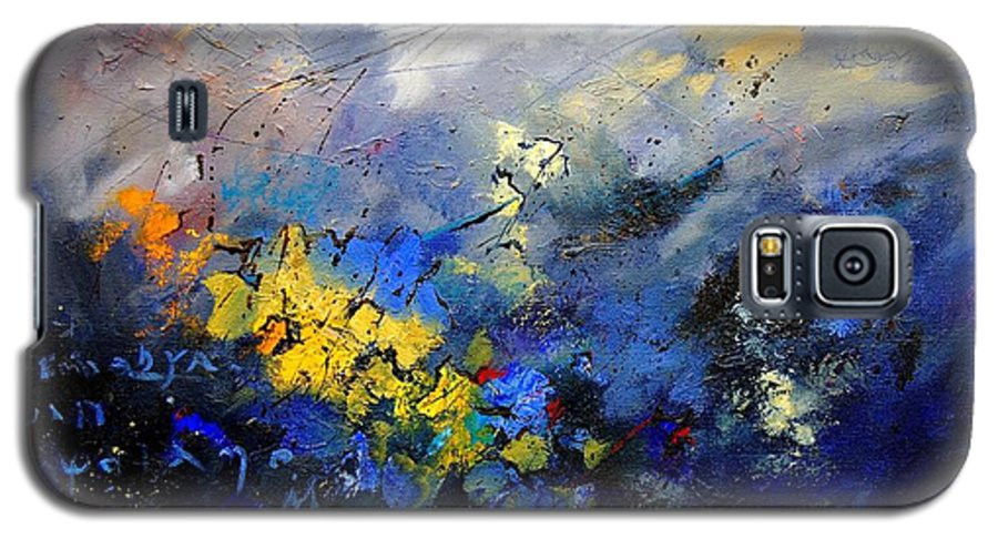 Abstract Galaxy S5 Case featuring the painting Abstract 970208 by Pol Ledent