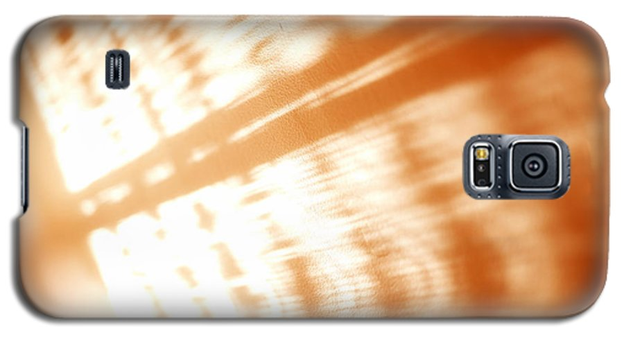 Abstract Galaxy S5 Case featuring the photograph Abstract Light Rays by Tony Cordoza