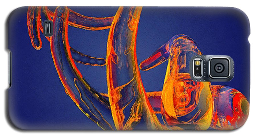 Abstract Galaxy S5 Case featuring the photograph Abstract Number 13 by Peter J Sucy