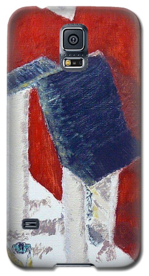 Social Realiism Galaxy S5 Case featuring the painting Accessories by R B
