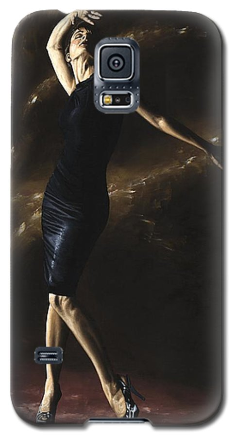 Dance Galaxy S5 Case featuring the painting After The Dance by Richard Young