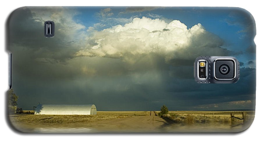 Storm Galaxy S5 Case featuring the photograph After The Storm by Jerry McElroy
