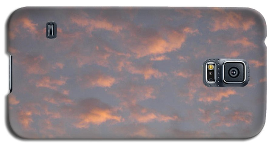 Skyscape Galaxy S5 Case featuring the painting Afternoon Sky 11 by Roger Cummiskey