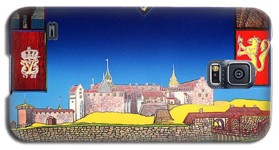 Historic Galaxy S5 Case featuring the mixed media Akershus Festning -akershusfortress by Jarle Rosseland