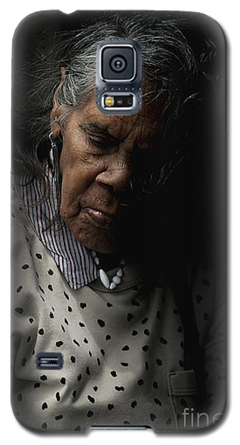 Portrait Galaxy S5 Case featuring the photograph Alice by Sheila Smart Fine Art Photography